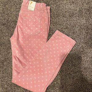 New girls size 7 pants